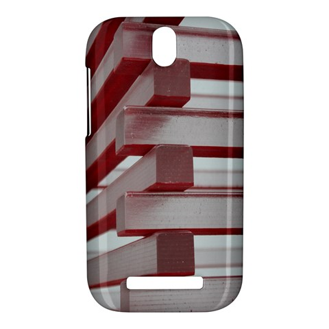Red Sunglasses Art Abstract  HTC One SV Hardshell Case