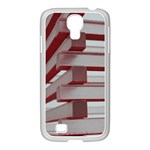 Red Sunglasses Art Abstract  Samsung GALAXY S4 I9500/ I9505 Case (White) Front