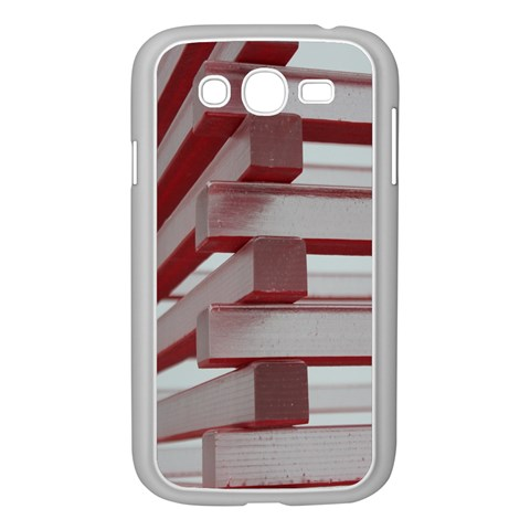 Red Sunglasses Art Abstract  Samsung Galaxy Grand DUOS I9082 Case (White)