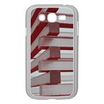Red Sunglasses Art Abstract  Samsung Galaxy Grand DUOS I9082 Case (White) Front