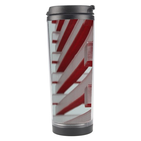 Red Sunglasses Art Abstract  Travel Tumbler