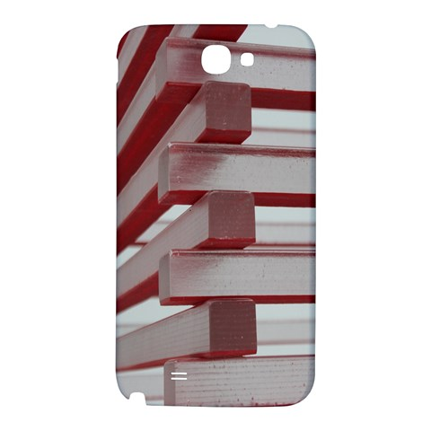 Red Sunglasses Art Abstract  Samsung Note 2 N7100 Hardshell Back Case