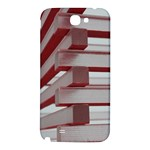 Red Sunglasses Art Abstract  Samsung Note 2 N7100 Hardshell Back Case Front