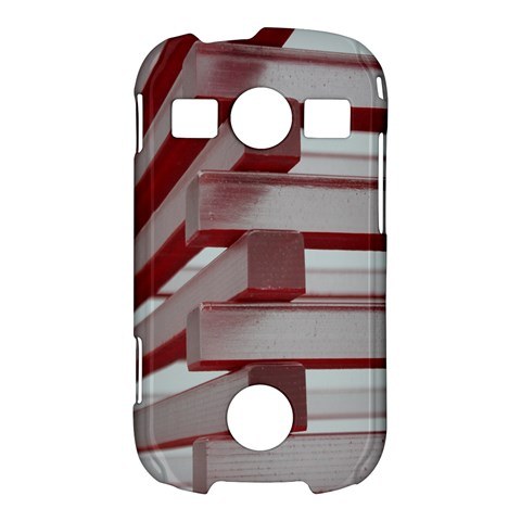 Red Sunglasses Art Abstract  Samsung Galaxy S7710 Xcover 2 Hardshell Case