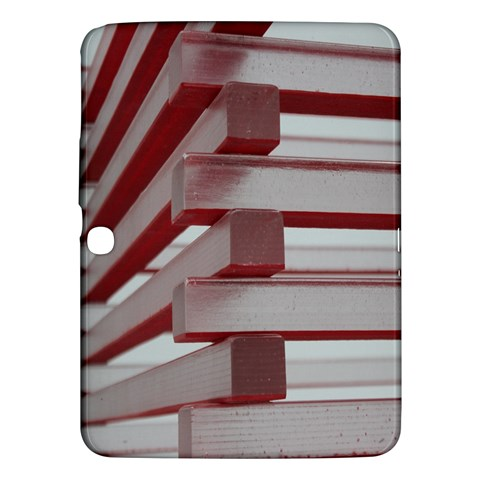 Red Sunglasses Art Abstract  Samsung Galaxy Tab 3 (10.1 ) P5200 Hardshell Case