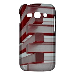 Red Sunglasses Art Abstract  Samsung Galaxy Ace 3 S7272 Hardshell Case