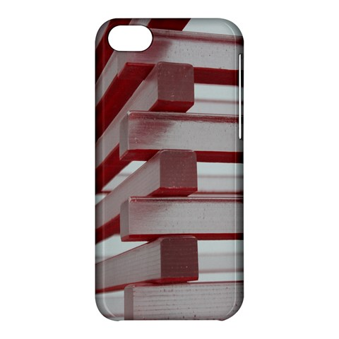 Red Sunglasses Art Abstract  Apple iPhone 5C Hardshell Case