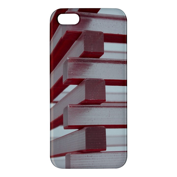 Red Sunglasses Art Abstract  iPhone 5S/ SE Premium Hardshell Case