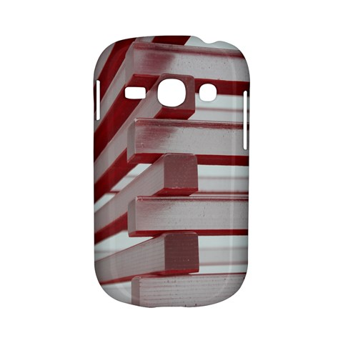 Red Sunglasses Art Abstract  Samsung Galaxy S6810 Hardshell Case