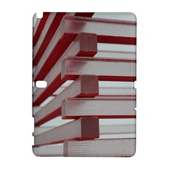 Red Sunglasses Art Abstract  Samsung Galaxy Note 10.1 (P600) Hardshell Case