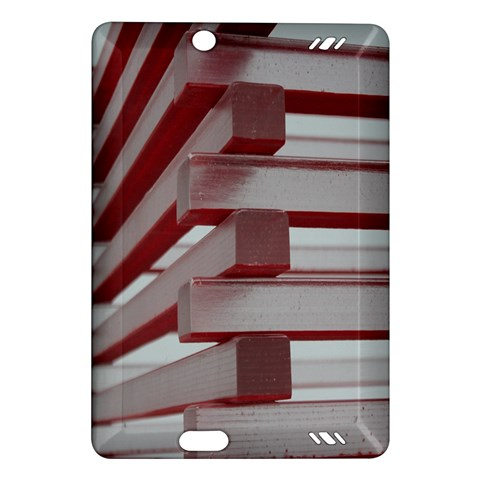 Red Sunglasses Art Abstract  Amazon Kindle Fire HD (2013) Hardshell Case
