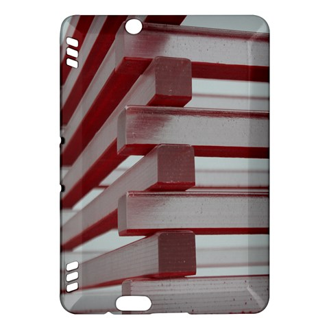 Red Sunglasses Art Abstract  Kindle Fire HDX Hardshell Case