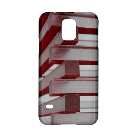 Red Sunglasses Art Abstract  Samsung Galaxy S5 Hardshell Case