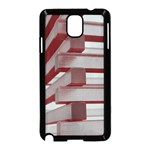 Red Sunglasses Art Abstract  Samsung Galaxy Note 3 Neo Hardshell Case (Black) Front