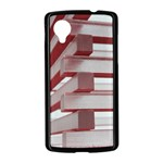Red Sunglasses Art Abstract  Nexus 5 Case (Black) Front