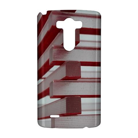 Red Sunglasses Art Abstract  LG G3 Hardshell Case