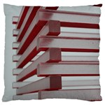 Red Sunglasses Art Abstract  Standard Flano Cushion Case (One Side) Front