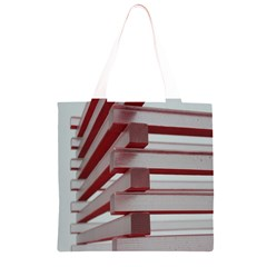 Red Sunglasses Art Abstract  Grocery Light Tote Bag