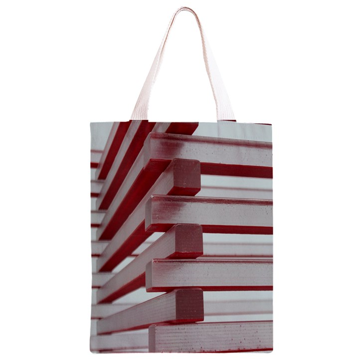 Red Sunglasses Art Abstract  Classic Light Tote Bag