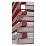 Red Sunglasses Art Abstract  Galaxy Note 4 Back Case Front