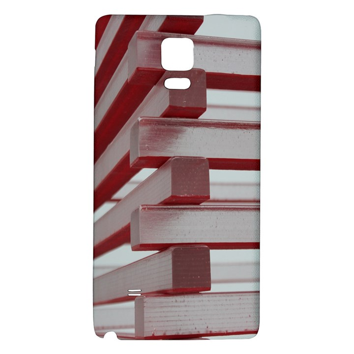 Red Sunglasses Art Abstract  Galaxy Note 4 Back Case