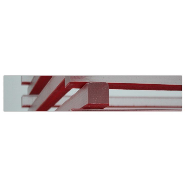 Red Sunglasses Art Abstract  Flano Scarf (Small)