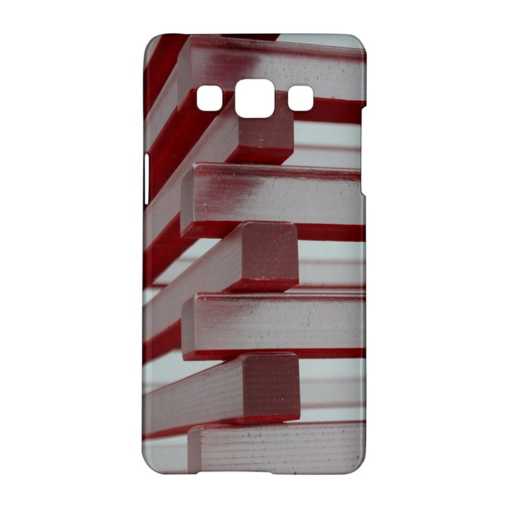Red Sunglasses Art Abstract  Samsung Galaxy A5 Hardshell Case
