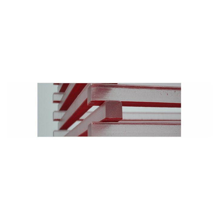 Red Sunglasses Art Abstract  Satin Scarf (Oblong)