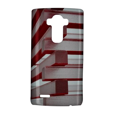 Red Sunglasses Art Abstract  LG G4 Hardshell Case