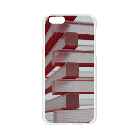 Red Sunglasses Art Abstract  Apple Seamless iPhone 6/6S Case (Transparent)