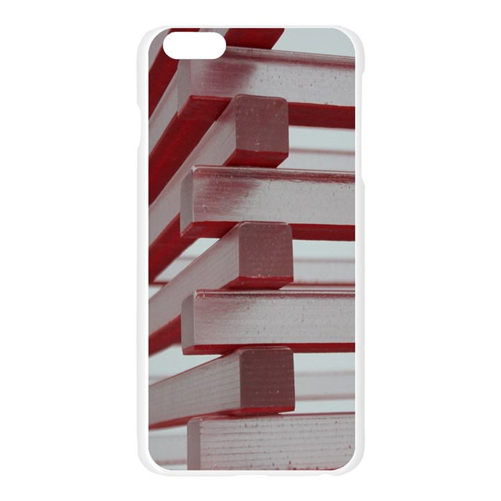 Red Sunglasses Art Abstract  Apple Seamless iPhone 6 Plus/6S Plus Case (Transparent)