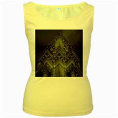 Reichstag Berlin Building Bundestag Women s Yellow Tank Top
