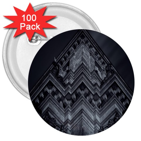 Reichstag Berlin Building Bundestag 3  Buttons (100 pack)
