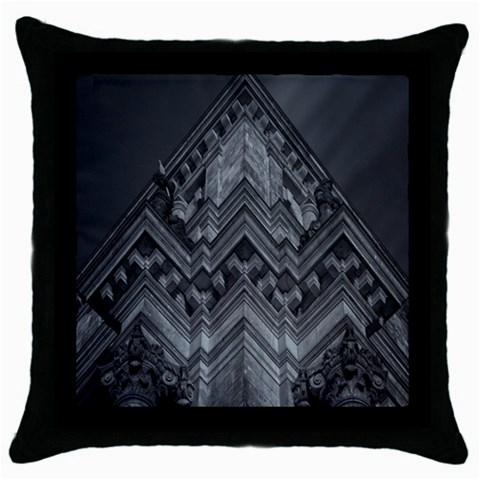 Reichstag Berlin Building Bundestag Throw Pillow Case (Black)