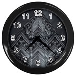 Reichstag Berlin Building Bundestag Wall Clocks (Black) Front