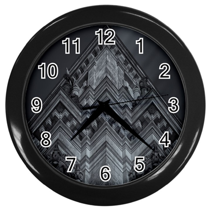 Reichstag Berlin Building Bundestag Wall Clocks (Black)