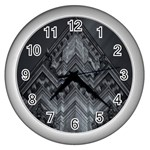 Reichstag Berlin Building Bundestag Wall Clocks (Silver)  Front
