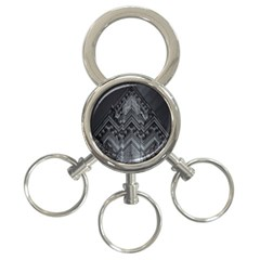 Reichstag Berlin Building Bundestag 3-Ring Key Chains