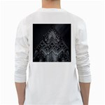 Reichstag Berlin Building Bundestag White Long Sleeve T-Shirts Back