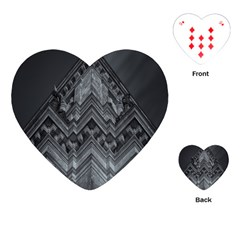 Reichstag Berlin Building Bundestag Playing Cards (Heart)