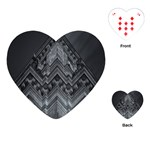 Reichstag Berlin Building Bundestag Playing Cards (Heart)  Front