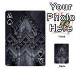 Reichstag Berlin Building Bundestag Playing Cards 54 Designs  Front - SpadeA