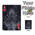 Reichstag Berlin Building Bundestag Playing Cards 54 Designs  Front - Heart4