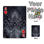 Reichstag Berlin Building Bundestag Playing Cards 54 Designs  Front - Heart5