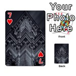 Reichstag Berlin Building Bundestag Playing Cards 54 Designs  Front - Heart7