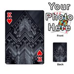 Reichstag Berlin Building Bundestag Playing Cards 54 Designs  Front - HeartK