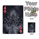Reichstag Berlin Building Bundestag Playing Cards 54 Designs  Front - Diamond4