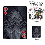 Reichstag Berlin Building Bundestag Playing Cards 54 Designs  Front - Diamond10