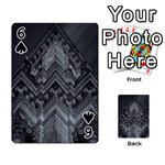 Reichstag Berlin Building Bundestag Playing Cards 54 Designs  Front - Spade6