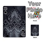 Reichstag Berlin Building Bundestag Playing Cards 54 Designs  Front - Spade10